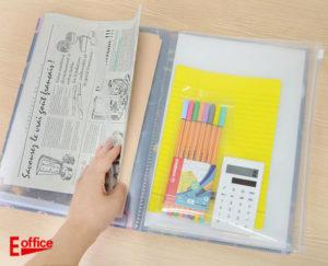 イー・オフィスオリジナル6ポケットファイル